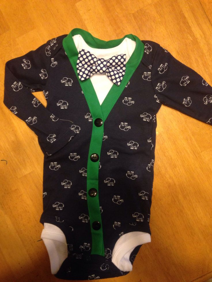 Baby Boys Cardigan Bodysuit and Bowtie, baby Boy Christmas Outfit, New Years Outfit, Holiday Pictures, baby boy cardigan by EllerbysChicBoutique on Etsy https://www.etsy.com/listing/207391457/baby-boys-cardigan-bodysuit-and-bowtie
