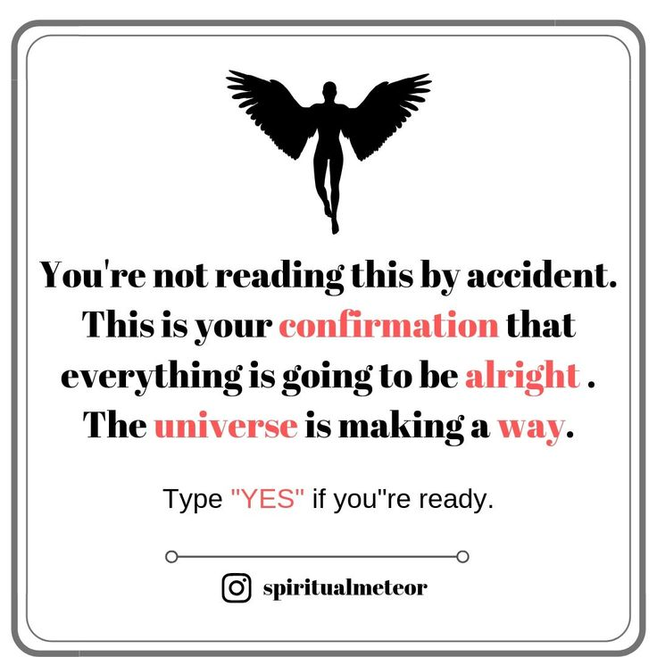 "Type ""YES"" if you're ready. 😇 – Affirmations"
