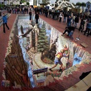 Wonderland – 3D Street Art