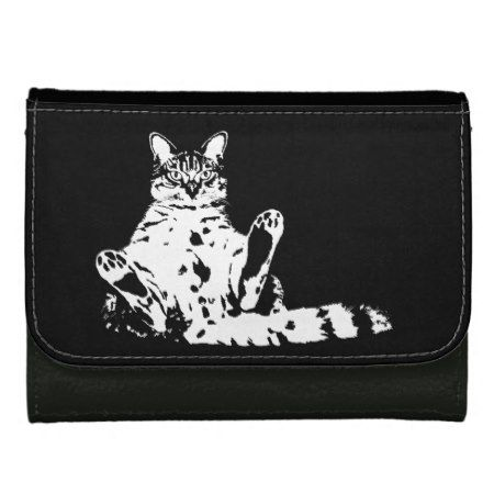 Grumpy Cat with Attitude Wallets - click/tap to personalize and buy
