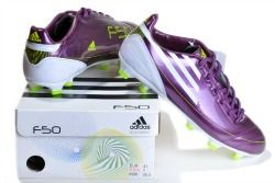 Popular purple Soccer Boots.