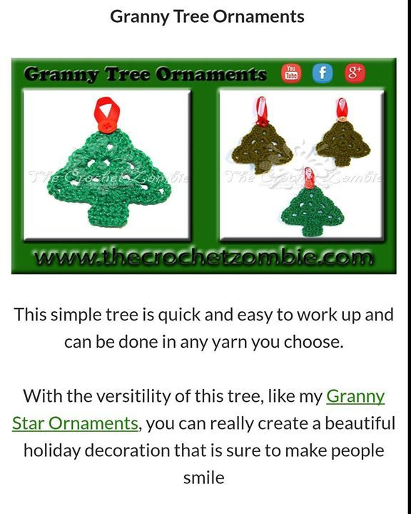 Just because I can't make new videos right now I still have patterns to share for the holidays.     http://ift.tt/2nlnTHn #xmas #crochet #tree #decoration #easycrochet #ornament