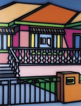 Howard Arkley  Aussie house