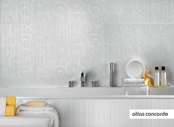 #RADIANCE White   #AtlasConcorde   #Tiles   #Ceramic