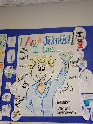 Kindergarten Science Center and FREEBIE!