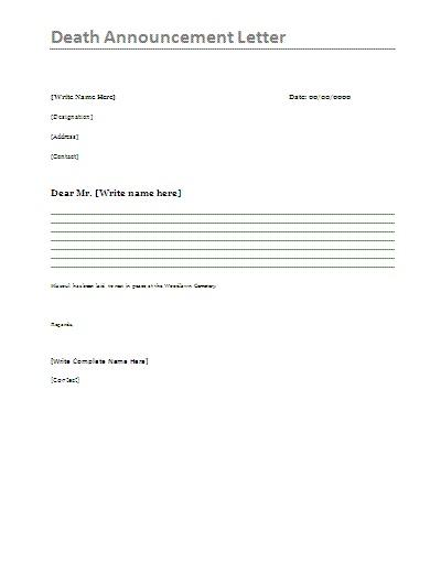 11 best Announcements Letters images on Pinterest Letter A
