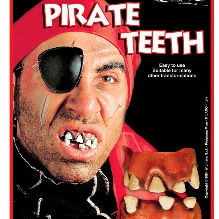 Dentadura de Pirata #dentadurasdisfraz  #accesoriosdisfraz #accesoriosphotocall