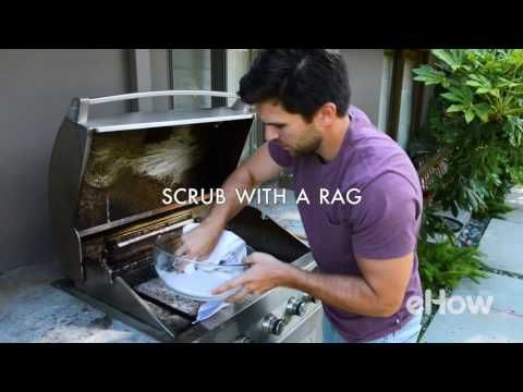 A+H- How to Get Your Grill Sparkling: Using baking soda and a little bit of elbow grease will help keep your barbecue grill clean and extend the life of it too.