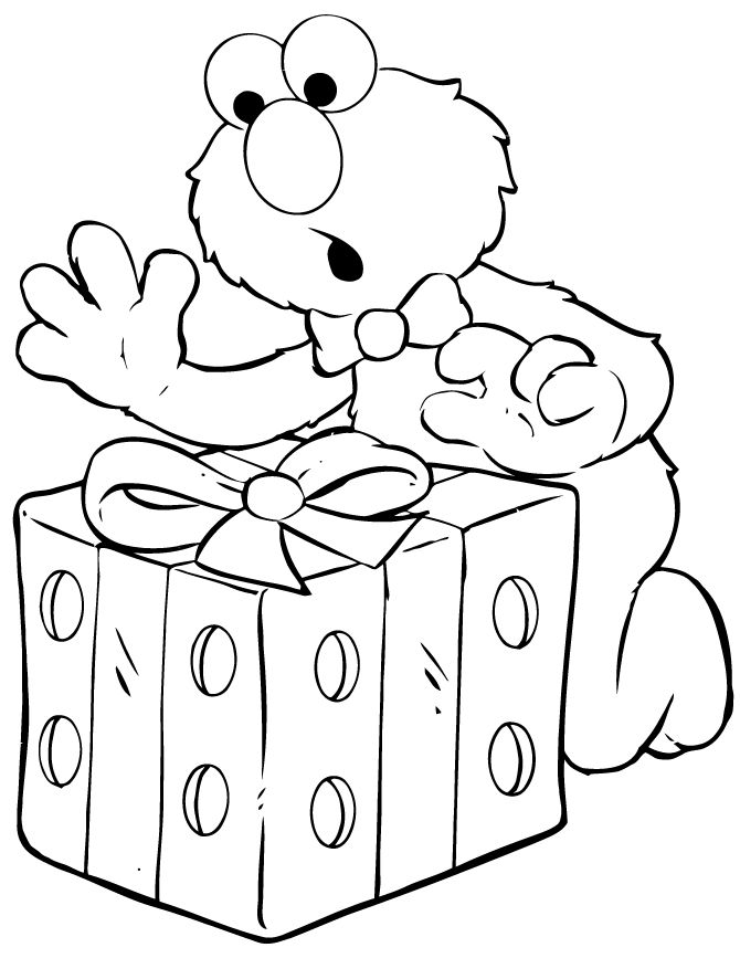 presents coloring pages holiday coloring pages coloring pages elmo coloring pages birthday