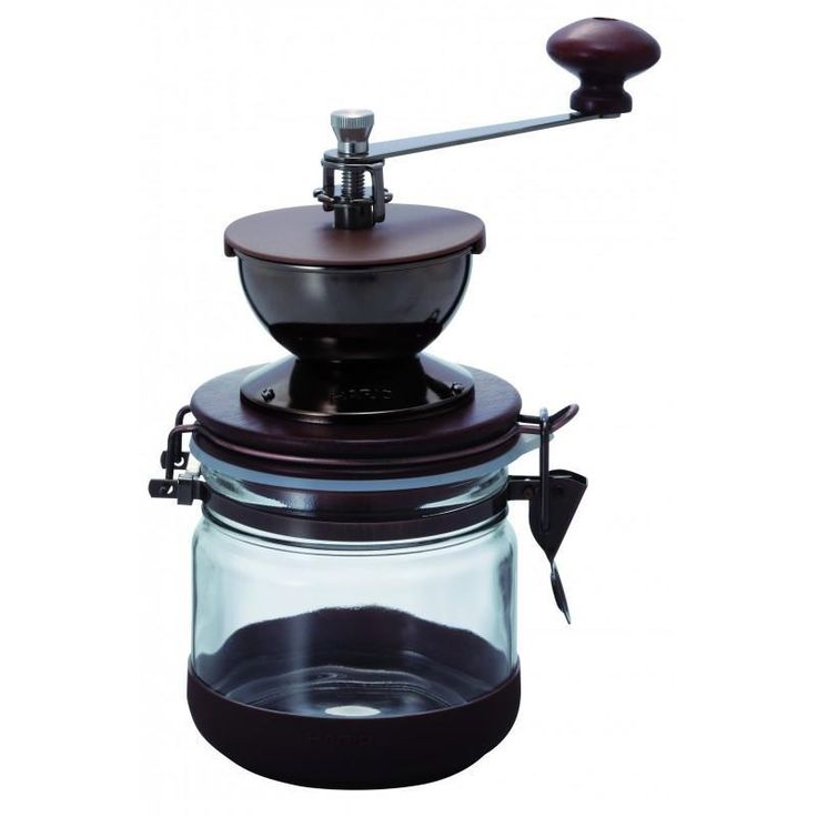 The Hario 'Canister' Coffee Mill Grinder utilises the classic design and function of the Skerton Mill, while introducing new elements of steel and wood for a stylish finish.