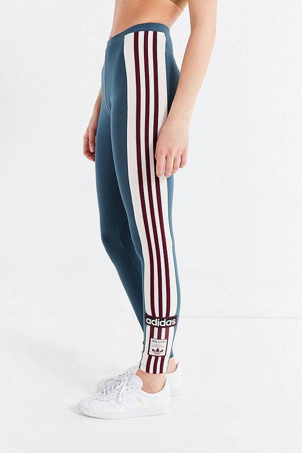 Adidas Originals Adibreak 3 Stripes Legging Outfits With Leggings Addidas Outfit Striped Leggings