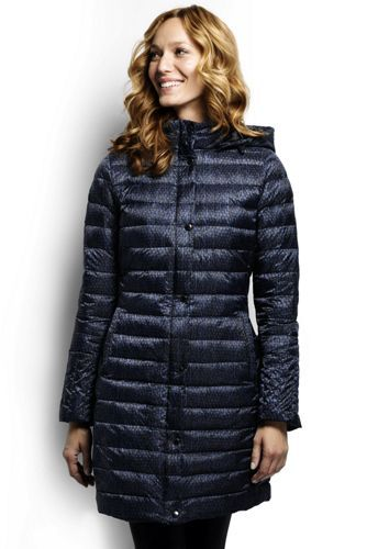 Women's Lightweight Down Packable Coat from Lands' End : available in my size, at a super discount!