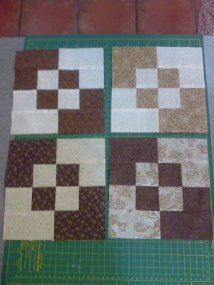 So easy and cute Quilt Blocks