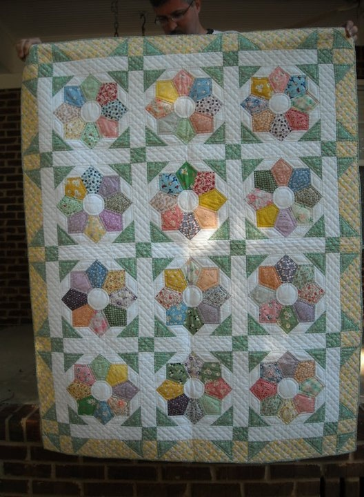 1000 Images About Hand Pieced Quilts On Pinterest
