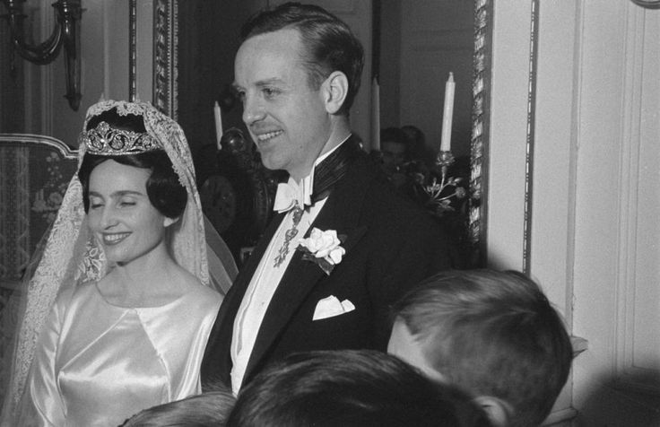 Prince Edouard Lobkowicz and Princess Françoise of Bourbon-Parma, 1960 - The Royal Forums