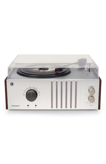 Crosley Radio 'Player' Turntable available at #Nordstrom