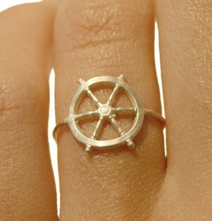Ship's stern ring.