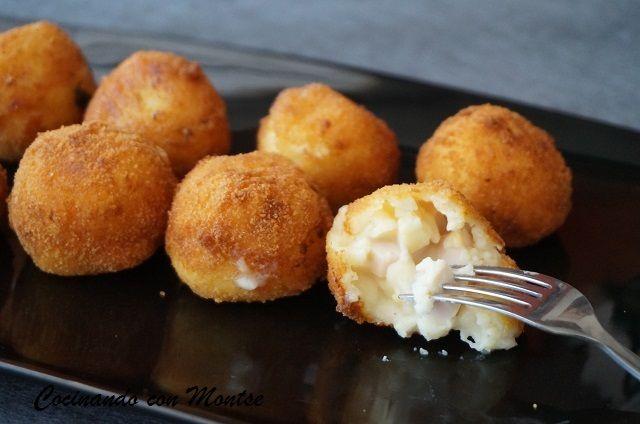 Cocinando con Montse: Croquetas de jamón y huevo duro