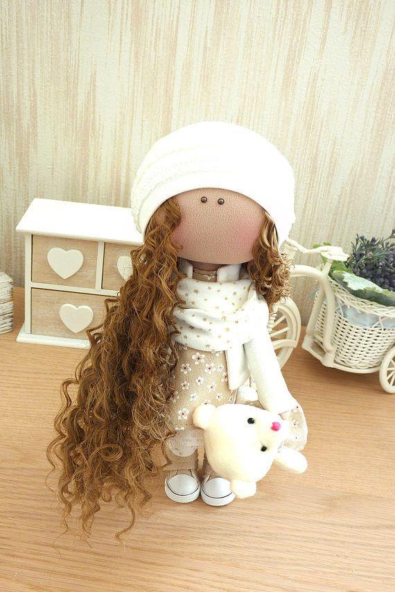 Ткань Кукла Ручная кукла Текстильная кукла Раг Кукла Украшение