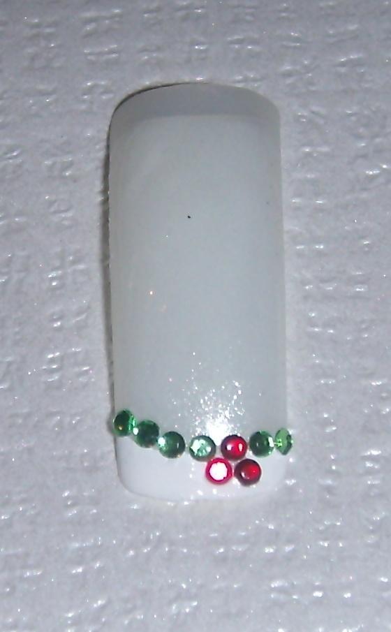 Χριστουγεννιάτικο σχέδιο για manicure_No14