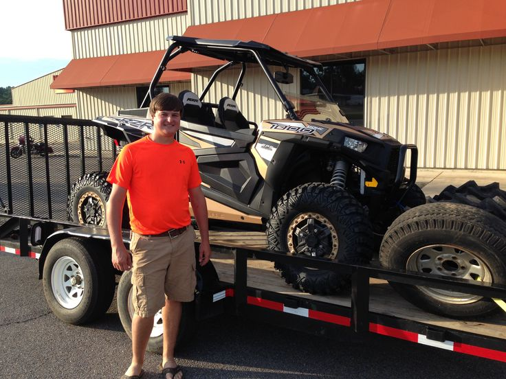 Congratulations Steven Myers  from Flora, MS for purchasing a 2017 Polaris RZR XP 1000 Rock Climber Edition at Hattiesburg Cycles. #polaris