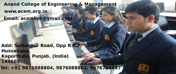 ACEM is one of the best Engineering college in Kapurthala, North India, courses includes Technical Degree and Diploma in Civil Engg, Mechanical Engg, Computer Science and Engineering.