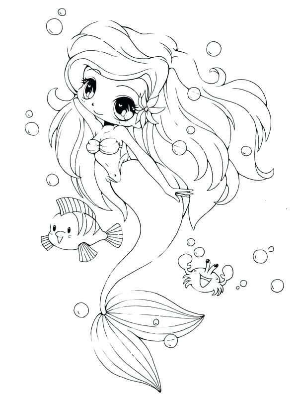 Little Mermaid Coloring Pages Cool Mermaid Coloring Pages To Spend Your Free Time At Home Mermaid Coloring Pages Chibi Coloring Pages Cute Coloring Pages