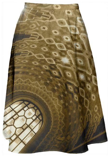 The #Guardian #midi #skirt by Casey J. Newman #deco #artdeco #architecture #Detroit #Michigan #puremichigan #sepia #photography #buildings #landmarks #travel #Pewabic #tile #tiles #midiskirt