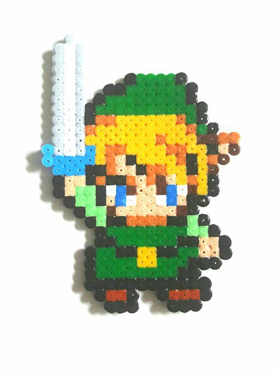 Link The Legend Of Zelda Pixel art beads