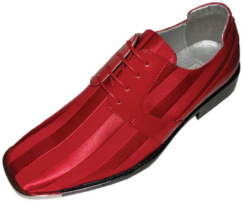 Red shoe for men http://coolmensshoes.com/products/bolano-mens-dress-oxford-with-silver-tip-satin-stripes-style-17