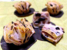 「むらさきいもと甘納豆のバターフレーキー♪」うさ・ぱん | お菓子・パンのレシピや作り方【corecle*コレクル】