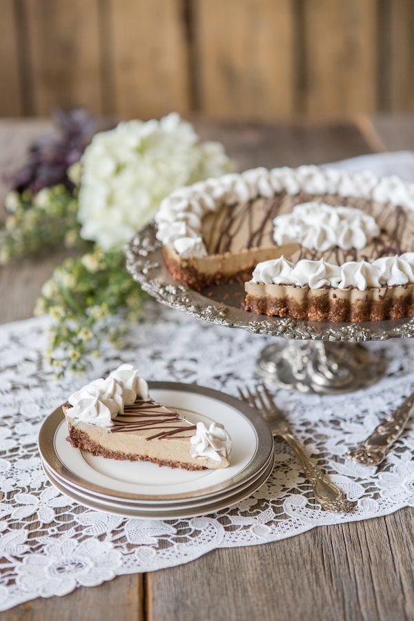 "Sneak Peek Recipe in #julibauerspaleocookbook for #paleo ""Peanut Butter"" Cream Pie"