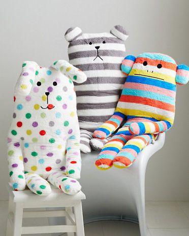 Huggable Animal Cushion