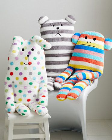 Huggable Animal Cushion