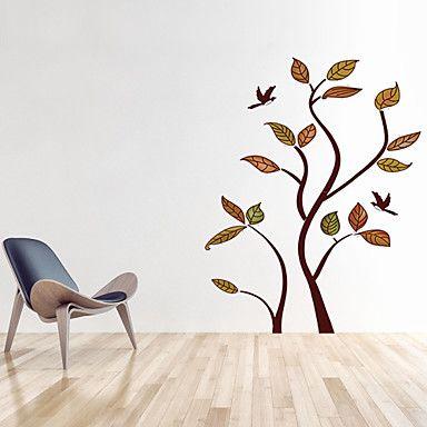 αυτοκόλλητα τοίχου τοίχου στυλ αυτοκόλλητα αυτοκόλλητα δέντρο κινούμενα σχέδια PVC τοίχο – EUR € 11.51