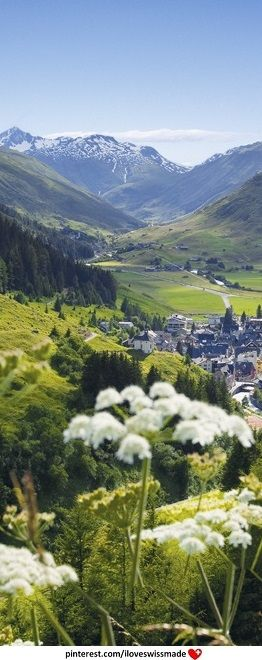 Andermatt Valley (Urserental), Uri, Switzerland