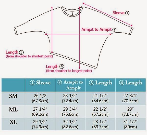 A page of clever drawings, photos and diagrams to make a variety of batwing tops, vests, modern ponchos.