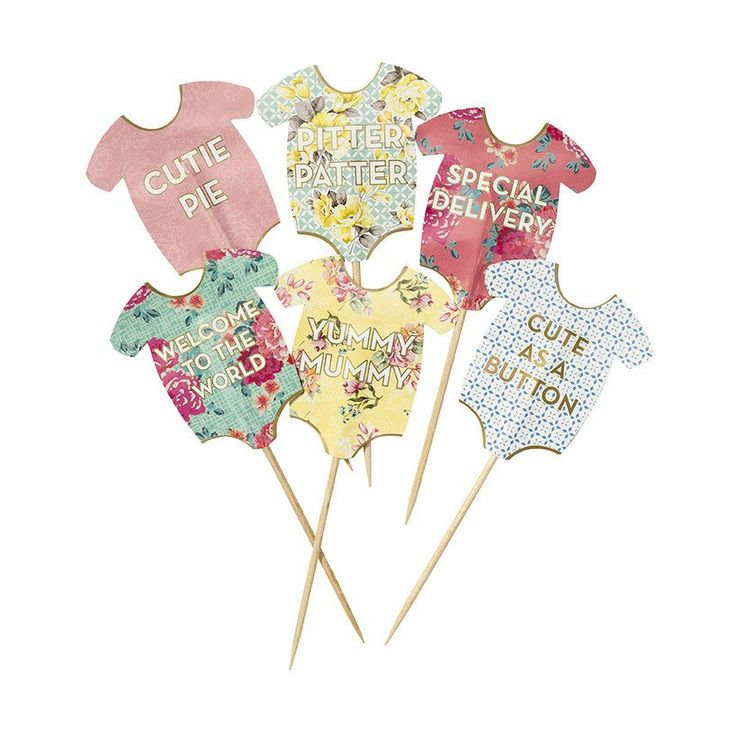 These cupcake toppers are perfect for a baby shower or party after baby is born. Available at www.moss.ie or pop into us on Dundrum main Street.