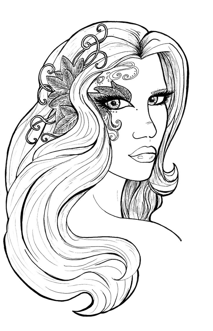 elves coloring pages images witch - photo#5