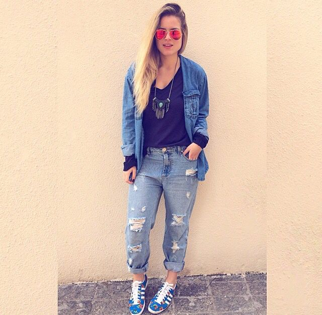 All jeans / look do dia / despojado / Sherons/ andress Almeida