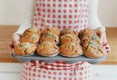 Utiliza la licuadora para hacer estos deliciosos muffins de banana y avena…