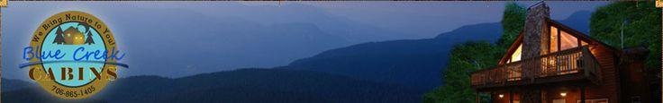 Serenity for Two Cabin | Mountain Rental | Helen GA Georgia