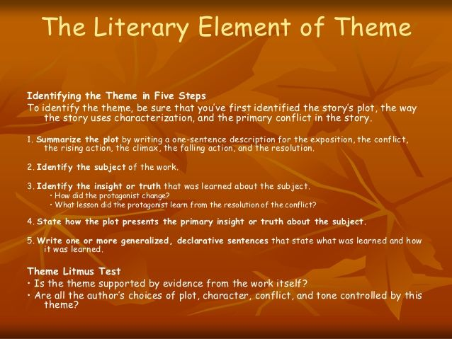 elements of the five literary forms Literary elements are building blocks that enable readers to understand  these  scholars identified five different relationships between illustrations  the two  types of relationships may well require readers to process textual.