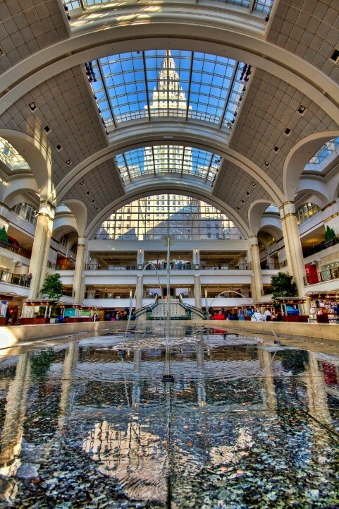 Tower City - Cleveland OH - still my favorite.mall.ever!