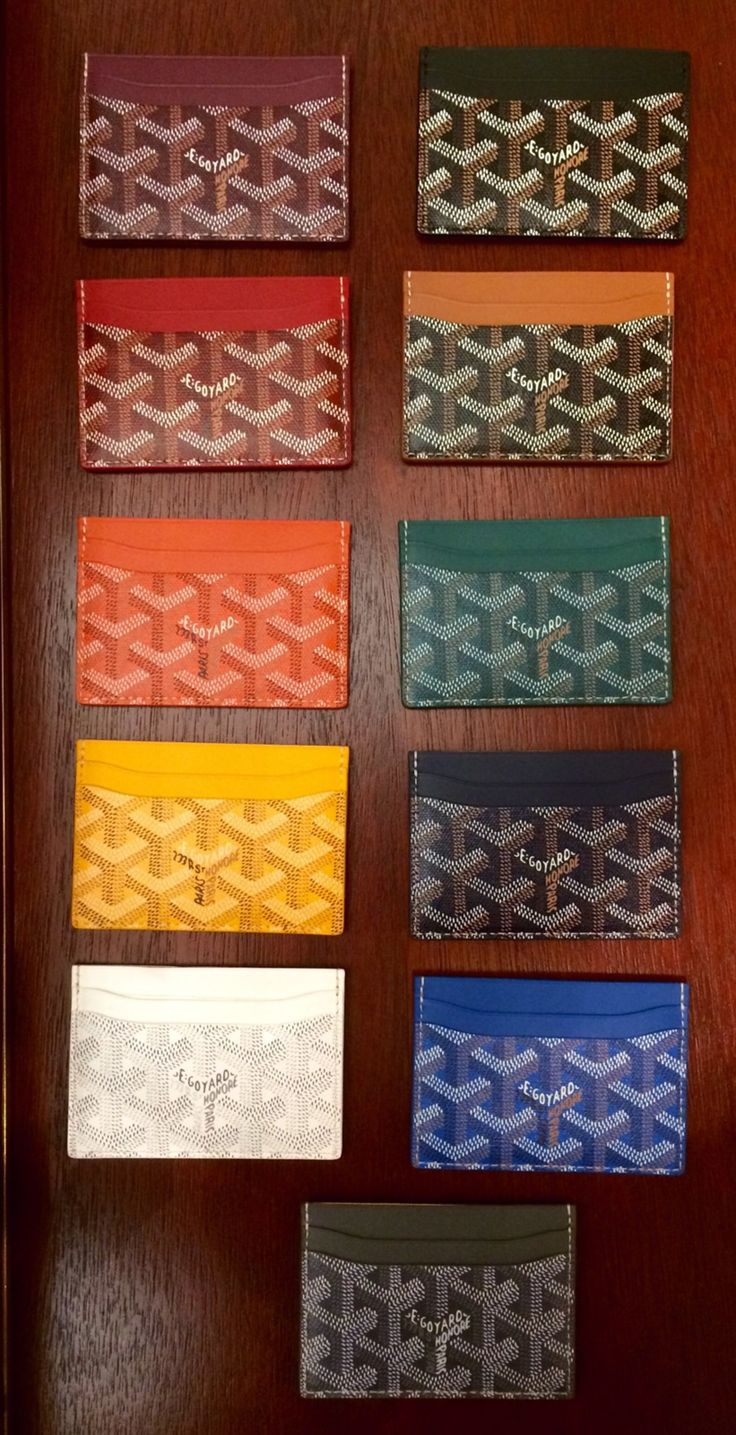 Saint Sulpice Card Case from #Goyard | PS Dept.