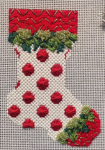 Christmas needlepoint