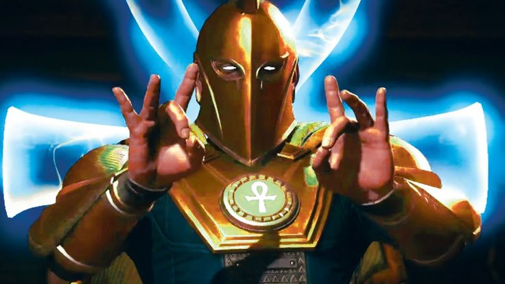 INJUSTICE 2 /  Dr. Fate Gameplay Trailer 2017 (PC, PS4, Xbox One)