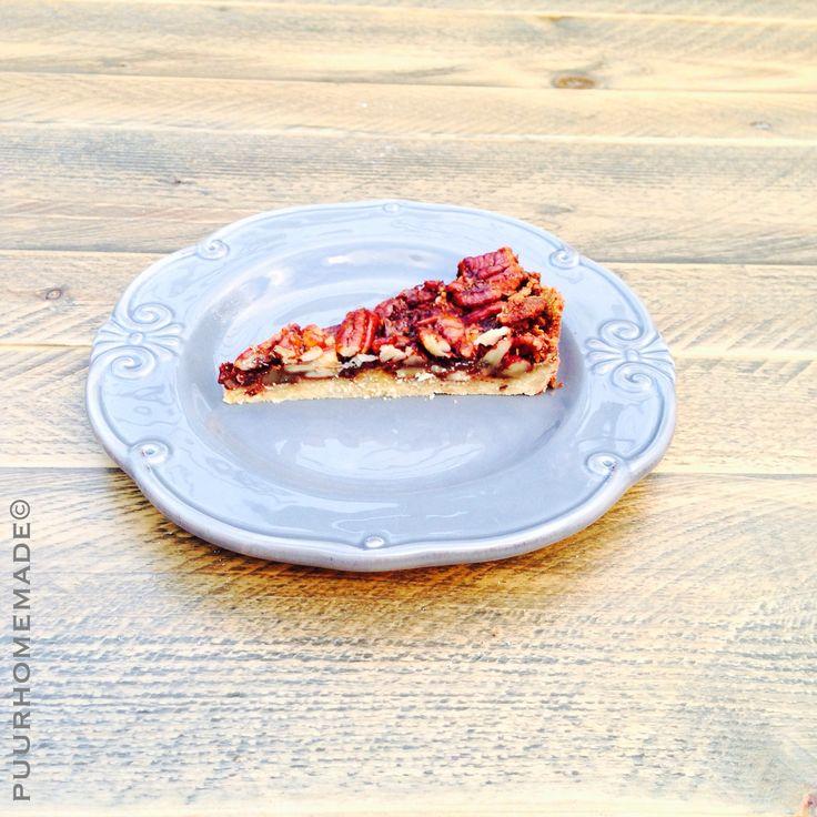 Pecannoten-Chocoladekoek - Puur Homemade
