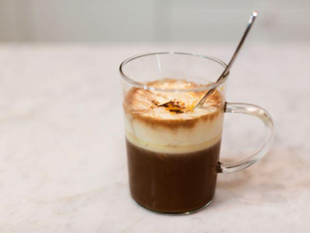 Varm choklad med kaffe och chili (kock Ernst Kirchsteiger)