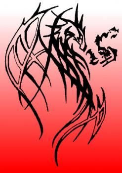 127 best dragons and fire images on pinterest drawing tutorials how to draw a tribal dragon breathing fire ccuart Choice Image